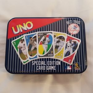 Yankees Uno game euc